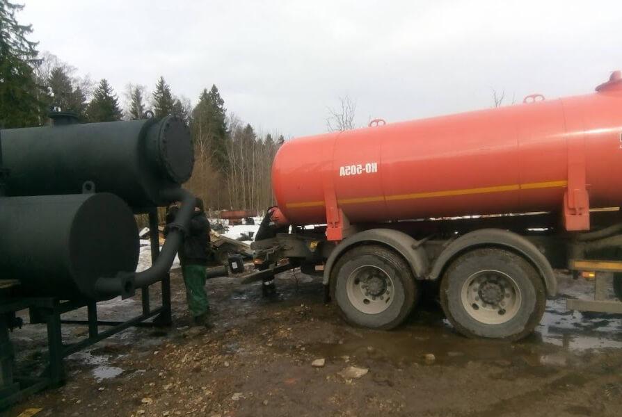 Утилзация топлива