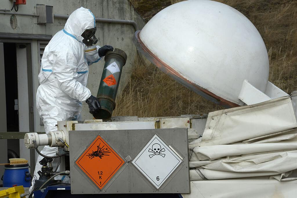 Утилизация ядовитых веществ